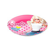 Plato redondo chic Barbie
