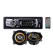 Combo Radio MP3/USB/SD/AU + Parlantes 10cm