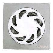 Rejilla piso vanguar 10 x 10 cm 1,1/2 x 3 pulgadas, Grival