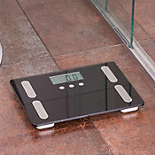 Báscula digital medidora de grasa, agua, masa ósea muscular