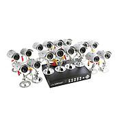 Kit de seguridad 16 Cámaras-grabador 1 tera - ip