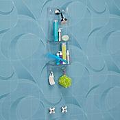 Organizador ducha baño 2 niveles