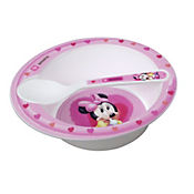 Bowl con cuchara microwave Minnie baby