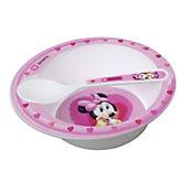 Bowl con cuchara microwave Minnie baby
