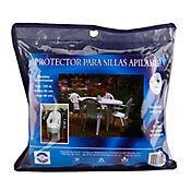 Protector para Sillas Apilables 125x60x82 cm