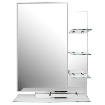 Espejo 4 repisas 70 cm x 50 cm Decoración baños ...