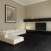 Piso Pared Cerámico Pizarra 33.8x33.8 cm Caja 1.6 m2 Negro