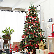 Árbol Navidad 2.1 mt 1000 Ramas Mountain Verde