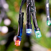 Luces x100 Led Multicolor