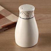 Salero y pimentero leaf cerámica