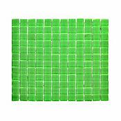 Mosaico vidrio verde 4mm 30 x 30 cm unidad