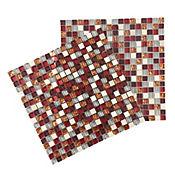 Mosaico multicolor 8mm 30 x 30 cm unidad