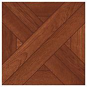 Piso Cerámico Arellano 33.8x33.8 cm Caja 1.6 m2 Terracota