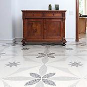 Piso Cerámico Gabriela 45.8x45.8 cm Caja 1.89 m2 Blanco