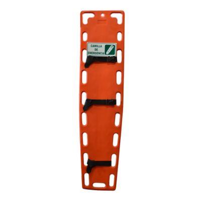 Camilla emergencia polietileno 185x45cm for Escalera plegable aluminio sodimac