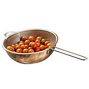 Colador 16 cm acero mango ovalado