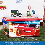 Caja infantil tapa cierre Cars 13 litros