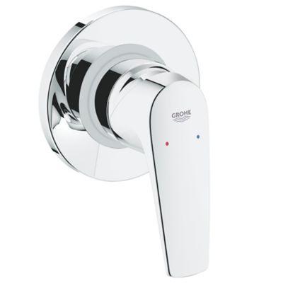Griferia ducha monocontrol bau loop groh for Tipos de llaves para duchas