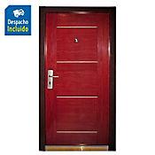 Sp puerta seguridad derecha intemperie 0,96 x 2,05 x 0,07 metros novara