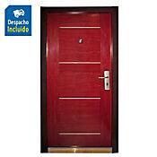 Sp puerta seguridad izquierda intemperie 0.96 x 2,05 x 0,07 metros novara