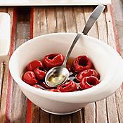 Cucharita para olivas y cerezas