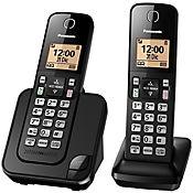 Teléfono inalámbrico id 2 auriculares