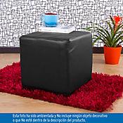 Puff Ontario 40x40x38 cm Negro