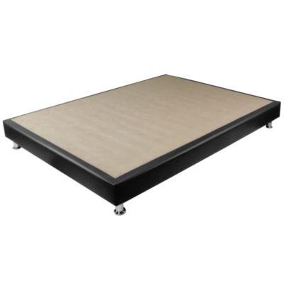 BASE CAMA PORTO 140X190cm NEGRO -&nbspHomecenter.com.co