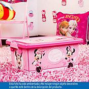 Caja plástica infantil tapa broche Minnie 7 litross
