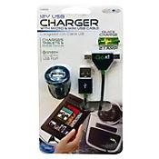 Cargador Celular y Tablet 2.1amp con Cable Micro