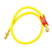 Conector Flexo Metálico Gas 100cm amarillo