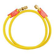 Conector Flexo Metálico Gas 150cm amarillo