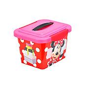 Caja infantil Minnie con manija 3.5 litros