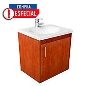 Mueble + lavamanos Eco básico cedro blanco