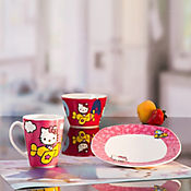 Vajilla desayuno 300 cc Hello Kitty  - lonch