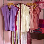 Protector de vestidos rayas colores
