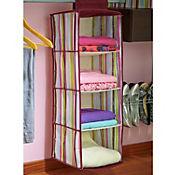 Organizador ropa 4 niveles rayas colores