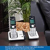 Telefono inalambrico 2 auriculares id altavoz