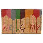 Tapete Coco Pintura Welcome 45x75 cm