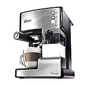 Cafetera automática inoxidable para espresso y capuccino
