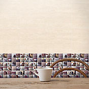Base decorada Maquiatto café