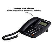 Teléfono escritorio identificador altavoz