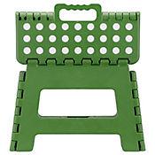 Butaco plástico plegable verde