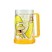 Vaso Cervecero de 450 cc en Acrílico Homero Simpson
