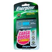 Cargador pilas digital Energizer con indicador de carga