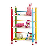 Biblioteca Infantil sin Puertas Lápices Multicolor