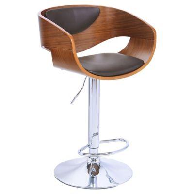 Silla bar madera for Sillas de oficina sodimac