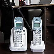 Telefono inalambrico 2 auriculares identificador de llamada