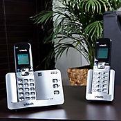 Telefono inalambrico 2 auriculares bluetooth