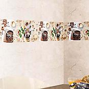 Base decorada boreal cafetero 30.1x75.3cms